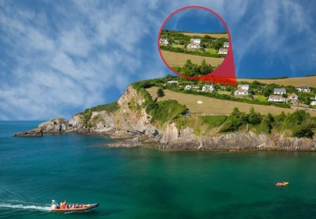 House in Combe Martin, England