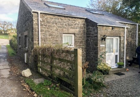 Cottage in St. David's and the Cathedral Close, Wales