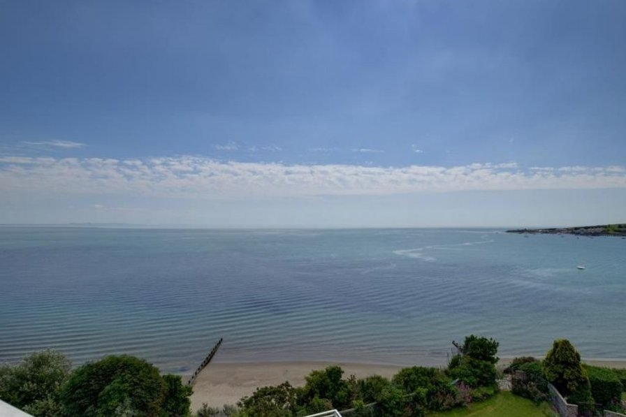 Owners abroad Swanage holiday apartment rental with swimming pool