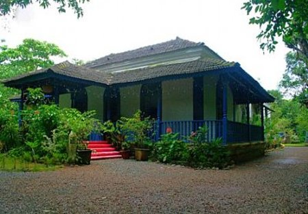 Villa in Calangute, India: Front view of the house