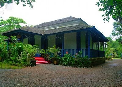Villa in India, Calangute: Front view of the house
