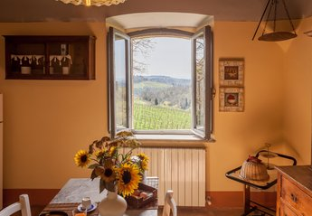 2 bedroom Cottage for rent in Gaiole in Chianti
