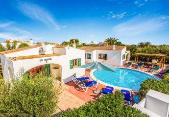 6 bedroom Villa for rent in Ciutadella de Menorca