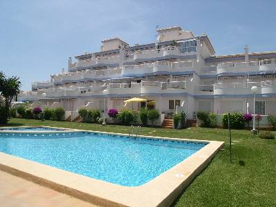 Apartment in Spain, Denia: View to terrace