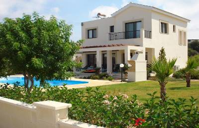 Villa in Cyprus, Secret Valley: Secret Valley - 3 Bed Villa in Landscaped Gardens