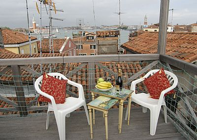 Apartment in Italy, Venice: Altana view