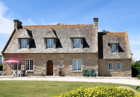 House in Cléder, France