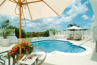 Villa in Barbados, St. James: Pool deck