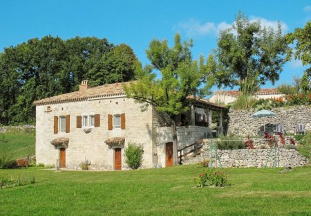 House in Montcuq-en-Quercy-Blanc, the South of France