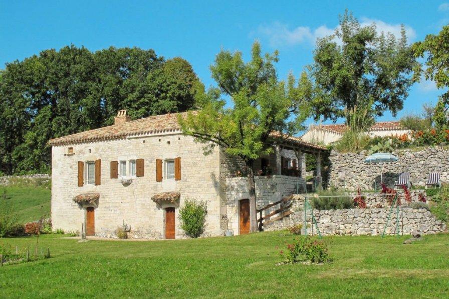 House in France, Montcuq-en-Quercy-Blanc