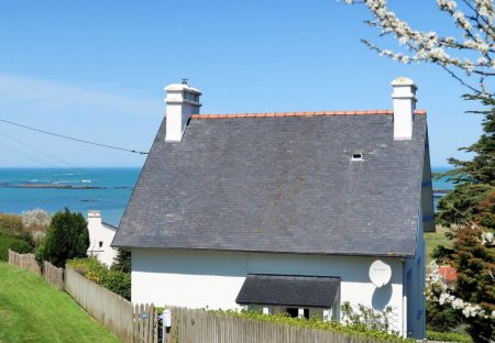 House in Plouguerneau, France