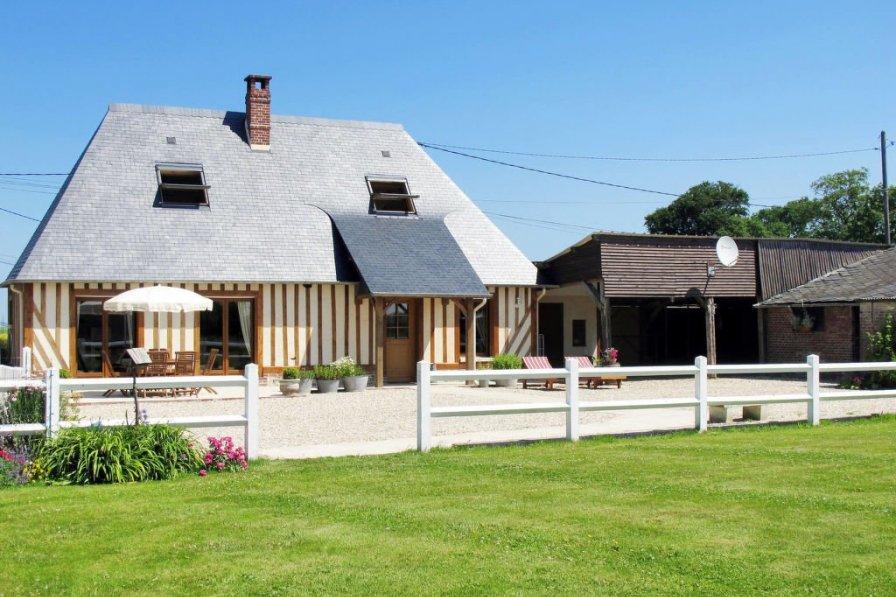 House in France, Angerville-la-Martel