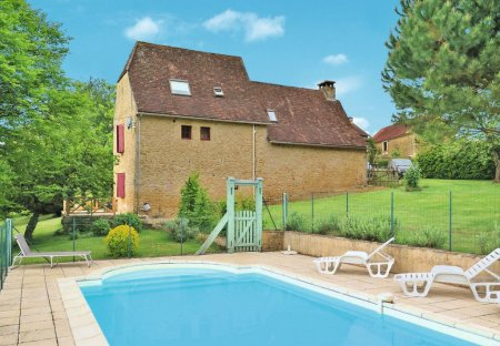 House in Saint-Amand-de-Coly, France
