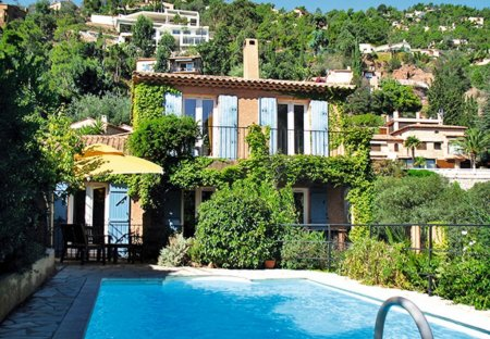 House in Théoule-sur-Mer, the South of France
