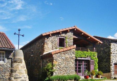 House in Blassac, France