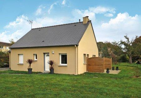 House in Lanleff, France