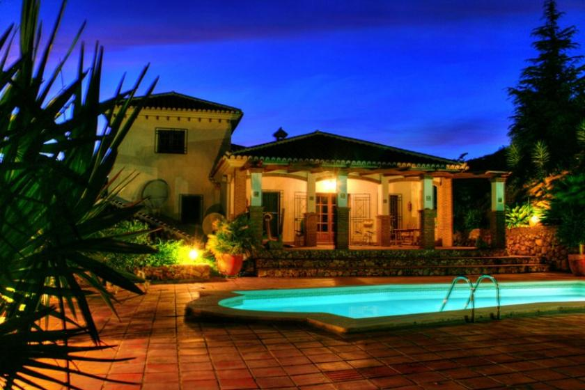 Finca To Rent In Competa Spain With Private Pool 26698