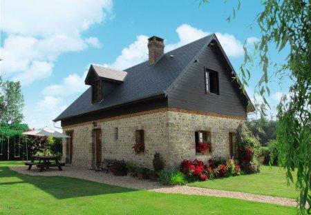 Villa in Bec-de-Mortagne, France