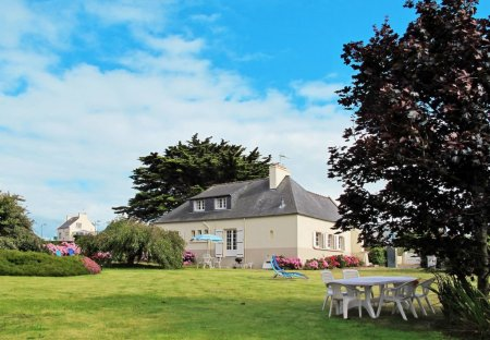 House in Roscoff, France
