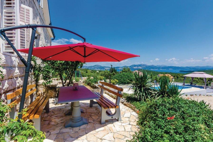 Villa in Croatia, Janjina