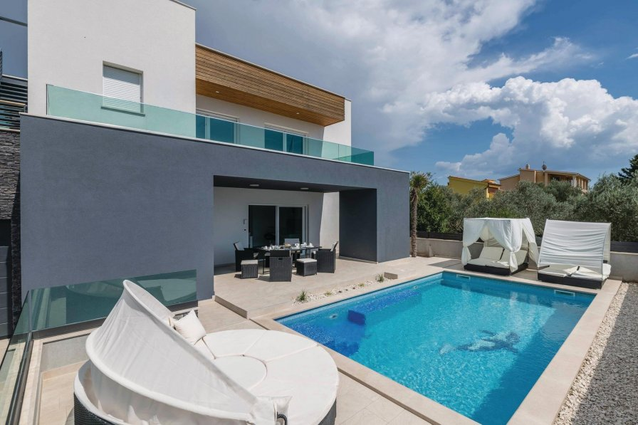 Villa rental in Fažana with swimming pool