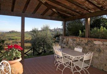 2 bedroom Villa for rent in San Gimignano