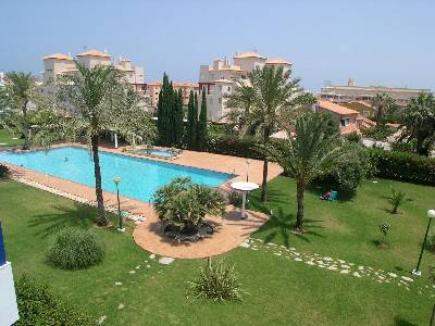 Apartment in Spain, Denia: View of grounds from South Balcony
