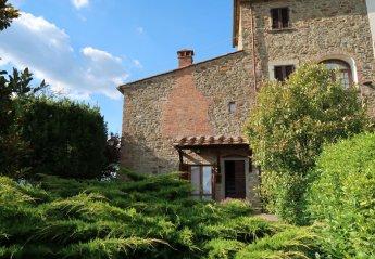 2 bedroom Villa for rent in Civitella in Val di Chiana