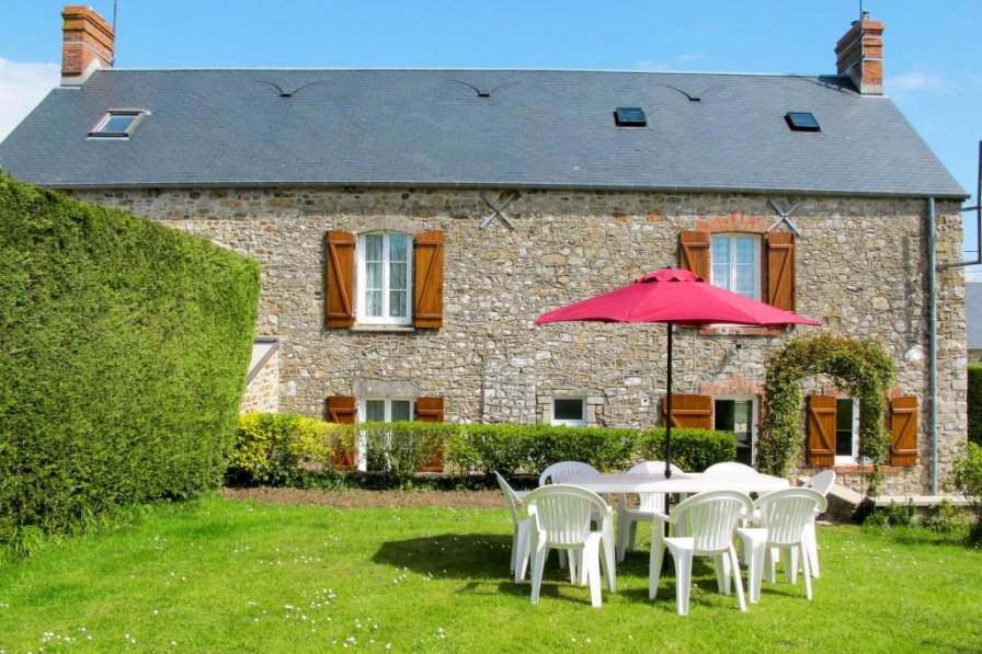House in France, Saint-Maurice-en-Cotentin