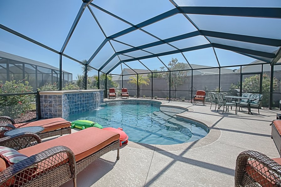 Pool Home. 3 bedroom House, 3817 Kaley Court