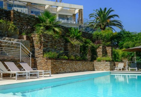 House in Le Lavandou, the South of France