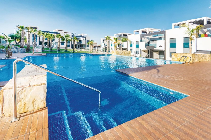 Holiday apartment in Los Balcones with shared pool