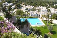 Apartment in Spain, Denia: A VIEW OF THE POOL FROM THE TERRACE