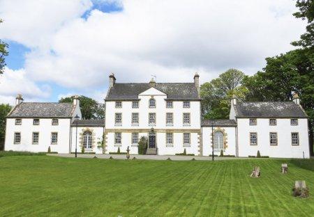 Chateau in Dornoch Firth, Scotland