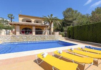 5 bedroom Villa for rent in Moraira