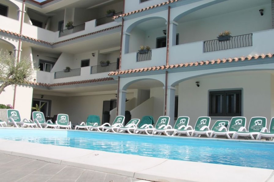 Apartment rental in Orosei with swimming pool