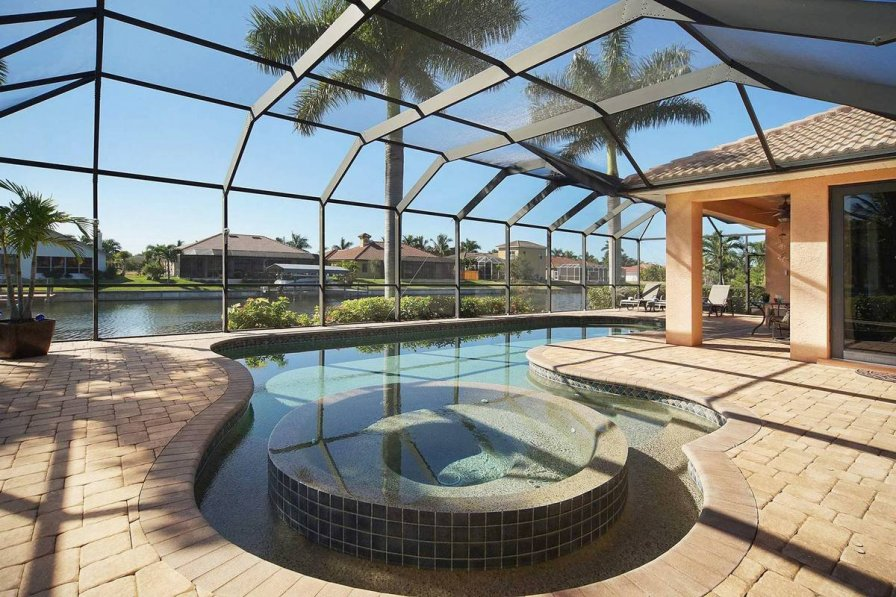 Villa To Rent In Cape Coral Florida With Private Pool