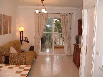 Town house in Spain, Algorfa: Relax to the max in the lounge!