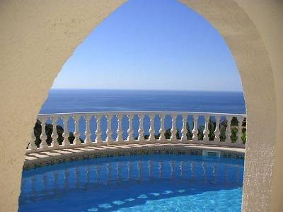 Villa in Spain, Cumbre del Sol: Pool Terrace