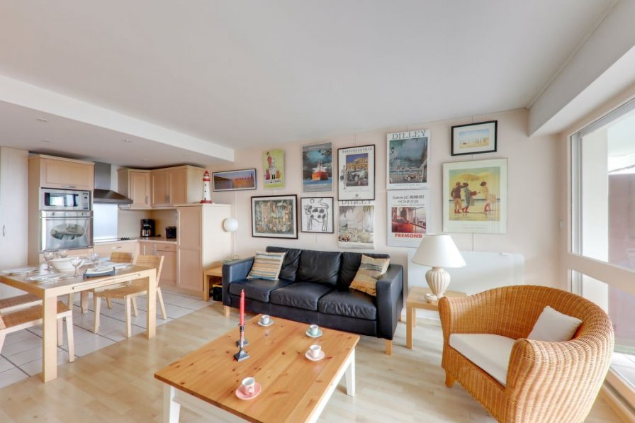 Hennequeville-Zone Callenville holiday apartment rental