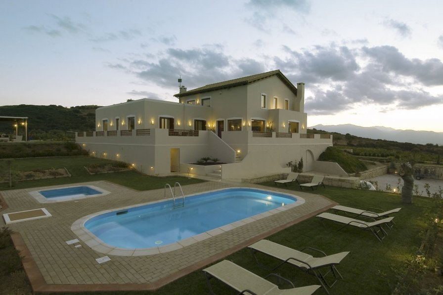 Villa in Greece, Archanes