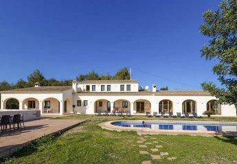7 bedroom Villa for rent in Moraira
