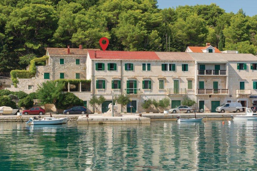 Apartment in Croatia, Povlja