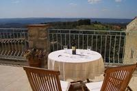 Village_house in France, Gorges du Verdon: Large terrace with spectacular views