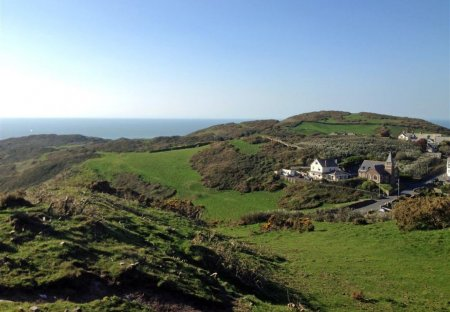 House in Mortehoe, England