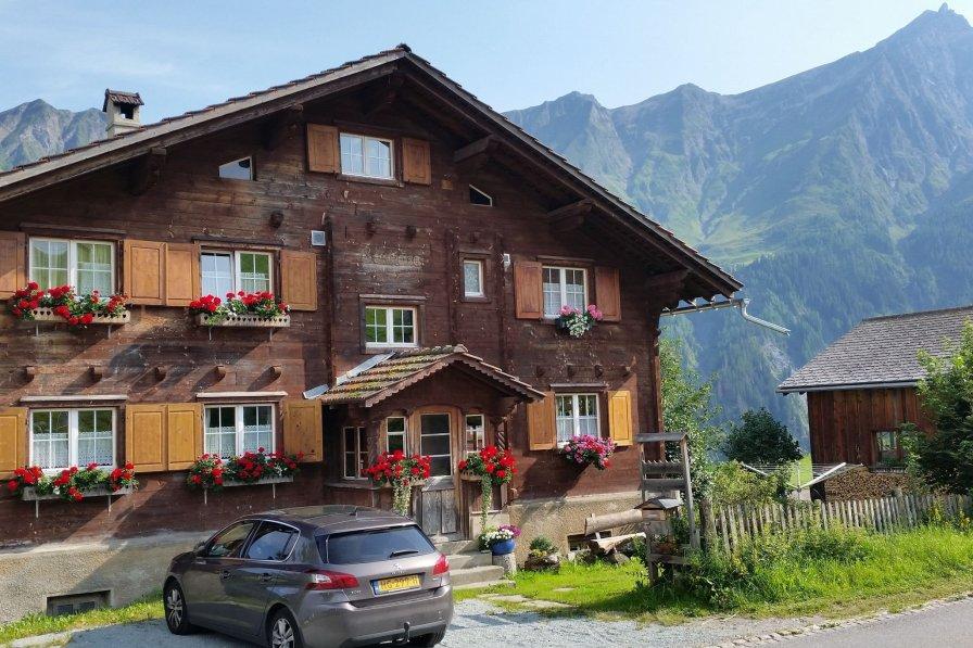 Apartment in Switzerland, Tschappina