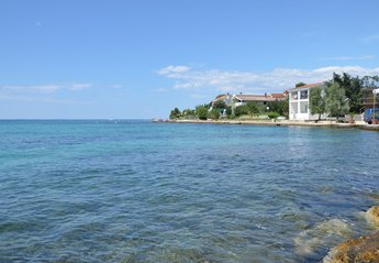 Apartment in Croatia, Diklo: View of the house