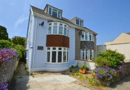 House in Tenby, Wales