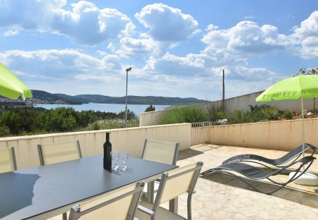 Apartment in Bilice, Croatia