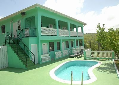 Apartment in Saint Lucia, Cap Estate: Belle Kaye Apartments